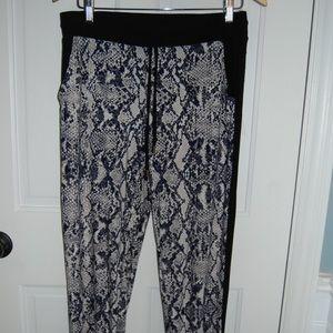 INC Snakeskin Super Soft pants